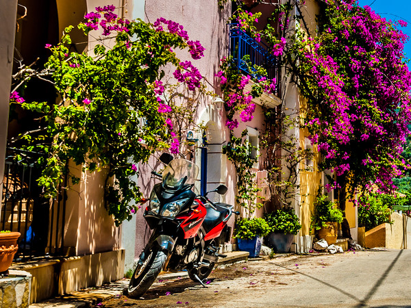 """""""The Bike"""" Canvas print by Phil Naylor"""
