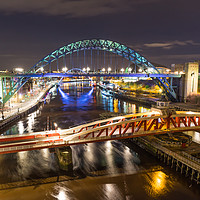 Buy canvas prints of Night at the Quayside by Phil Naylor