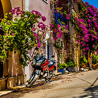 Buy canvas prints of Portrait of a Motorbike by Phil Naylor