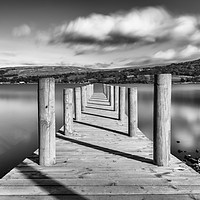 Buy canvas prints of View to Helvellyn  by Phil Naylor