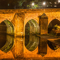 Buy canvas prints of Photo of Durham Elvet Bridge by Naylors Photography