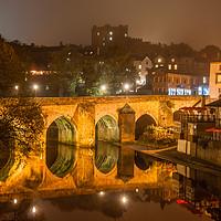 Buy canvas prints of Photo's of Durham - Elvet Bridge by Naylors Photography