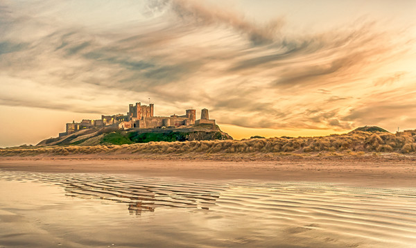 The most beautiful Castle in the world Canvas print by Naylor's Photography