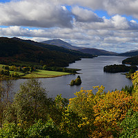 Buy canvas prints of Queen's View, Perthsire by Ann McGrath