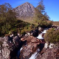 Buy canvas prints of Buachaille Etive Mor Glencoe by Ann McGrath