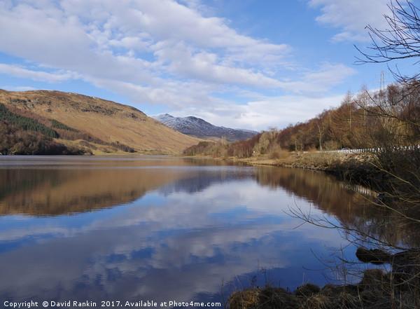 Loch Lubhair, Scotland Canvas print by David Rankin