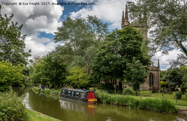 Kennet and Avon Canal,Hungerford Print by Sue Knight