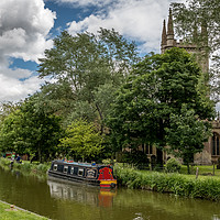 Buy canvas prints of Kennet and Avon Canal,Hungerford by Sue Knight