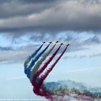 Buy canvas prints of Red White & Blue by Stephen Hamer