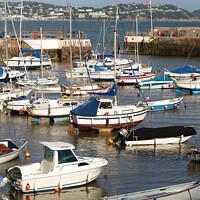 Buy canvas prints of Harbour Moorings by Stephen Hamer