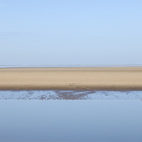 Buy canvas prints of Morecambe Bay Nature Reserve, Lancashire UK by David Forster