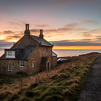 Buy canvas prints of The Bathing House, Howick by Phil Reay