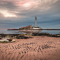 Buy canvas prints of St Mary`s at sunrise by Phil Reay