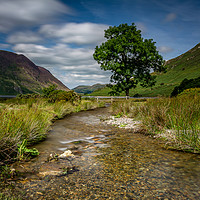 Buy canvas prints of Crummock Water, Lake District by David Schofield