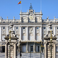 Buy canvas prints of Royal Palace in Madrid by Artur Bogacki