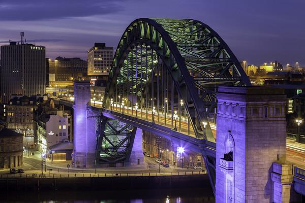 The Tyne Bridge Canvas Print by Alan Wallace