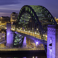 Buy canvas prints of The Tyne Bridge by Alan Wallace