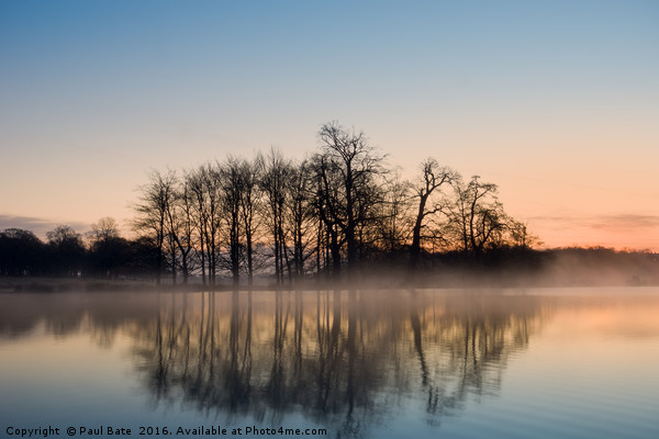 A Winters Morning  Canvas print by Paul Bate