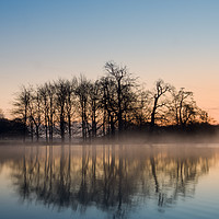 Buy canvas prints of A Winters Morning  by Paul Bate