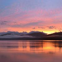 Buy canvas prints of Sunrise on Loch Fyne by Richard Hunt-Smith