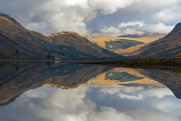 Reflections on Loch Fyne Canvas print by Richard Hunt-Smith