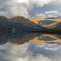 Buy canvas prints of Reflections on Loch Fyne by Richard Hunt-Smith