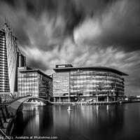 Buy canvas prints of Media City. by Bill Allsopp