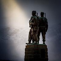 Buy canvas prints of Commando Memorial by Bill Allsopp