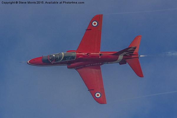 Red Arrows Hawk Canvas Print by Steve Morris