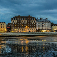 Buy canvas prints of Margate Harbour View by Ernie Jordan