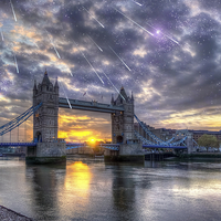 Buy canvas prints of  Tower bridge of london by Fox Images
