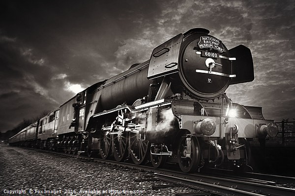 The flying scotsman Canvas Print by Fox Images
