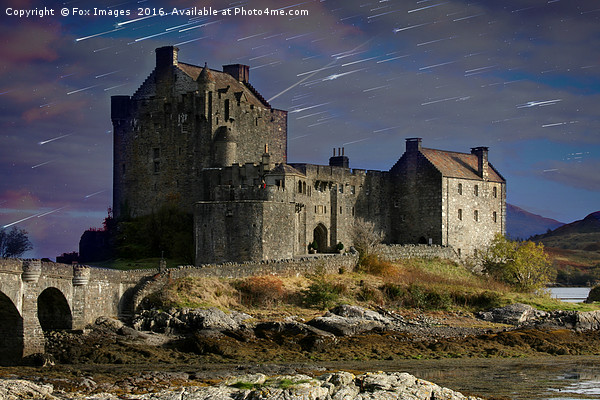 old castle eilan donan Canvas print by Fox Images