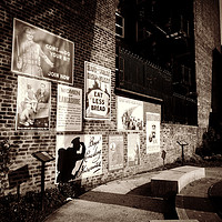 Buy canvas prints of wartime wall by Fox Images