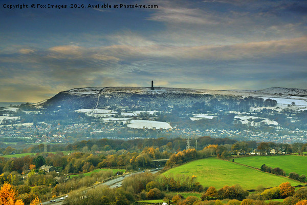 Holcombe hill tower Canvas print by Fox Images
