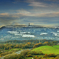 Buy canvas prints of Holcombe hill tower by Fox Images