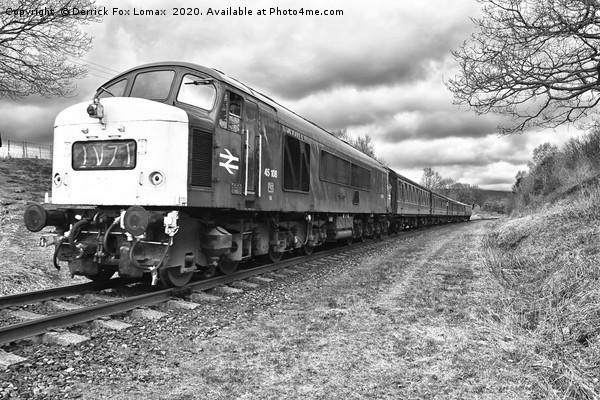 Class 45 diesel 108 Canvas print by Derrick Fox Lomax