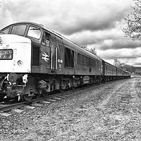 Buy canvas prints of Class 45 diesel 108 by Derrick Fox Lomax