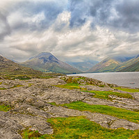 Buy canvas prints of WastWater Lake Cumbria by Derrick Fox Lomax