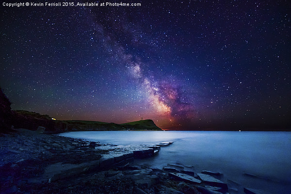 Out of this world - Kimmeridge Print by Kevin Ferrioli