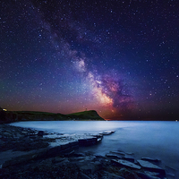 Buy canvas prints of  Out of this world - Kimmeridge by Kevin Ferrioli