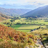 Buy canvas prints of Langdale - Lake District by Chris Warham