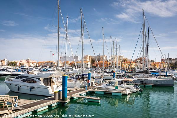 Vilamoura Harbour - The Algarve, Portugal Canvas print by Chris Warham