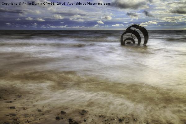 Sea Storm Canvas print by Philip Durkin CPAGB