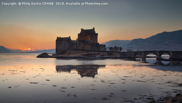 Eilean Donan Castle - Scotland Canvas Print by Philip Durkin CPAGB