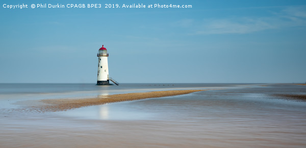 Talacre Lighthouse Print by Phil Durkin CPAGB BPE3