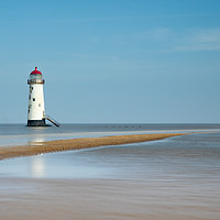 Buy canvas prints of Talacre Lighthouse by Phil Durkin CPAGB BPE3