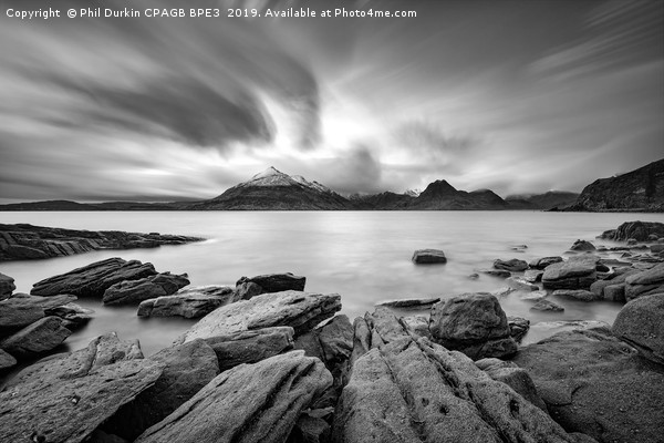 The Cuillins From Elgol Canvas print by Phil Durkin CPAGB BPE3