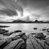 Buy canvas prints of The Cuillins From Elgol by Phil Durkin CPAGB BPE3