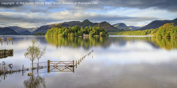 Derwentwater - Lake District Canvas Print by Phil Durkin DPAGB BPE3